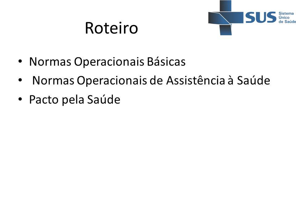 Roteiro Normas Operacionais Básicas