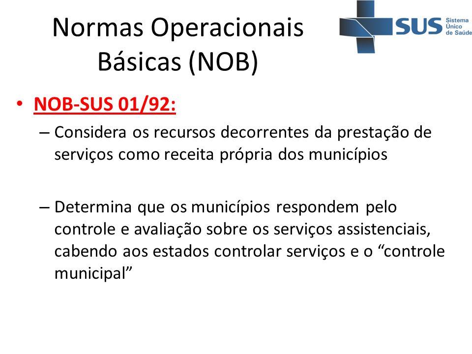 Normas Operacionais Básicas (NOB)