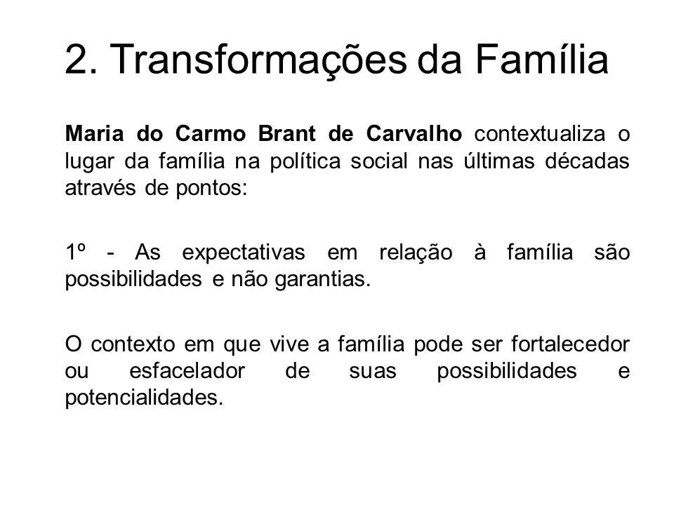 2. Transformações da Família