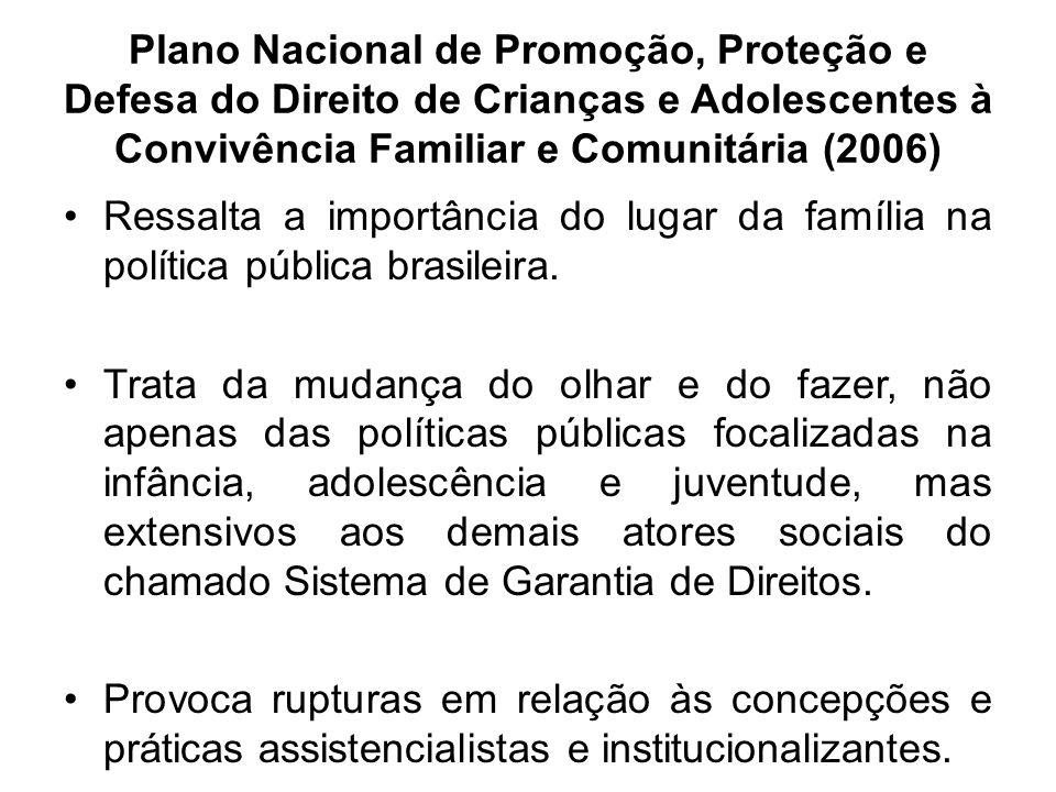 Plano Nacional de Promoção, Proteção e Defesa do Direito de Crianças e Adolescentes à Convivência Familiar e Comunitária (2006)