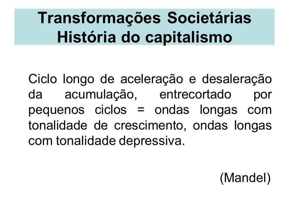 Transformações Societárias História do capitalismo