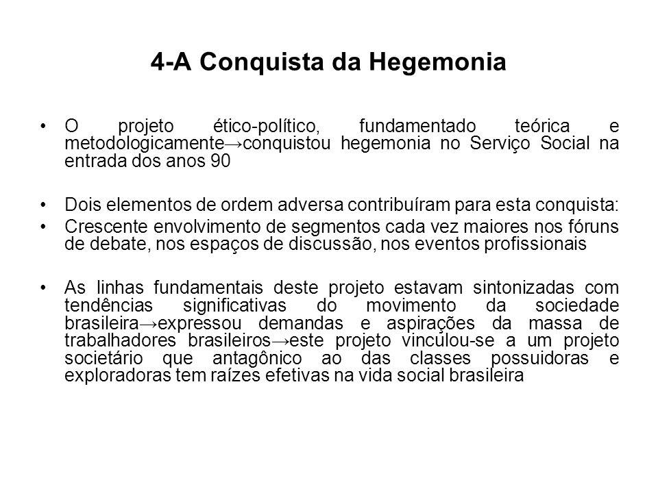 4-A Conquista da Hegemonia