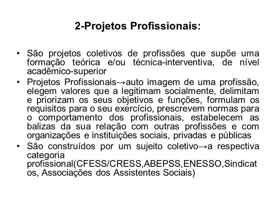 2-Projetos Profissionais: