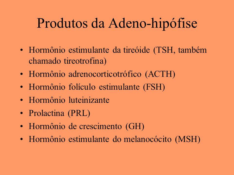 Produtos da Adeno-hipófise