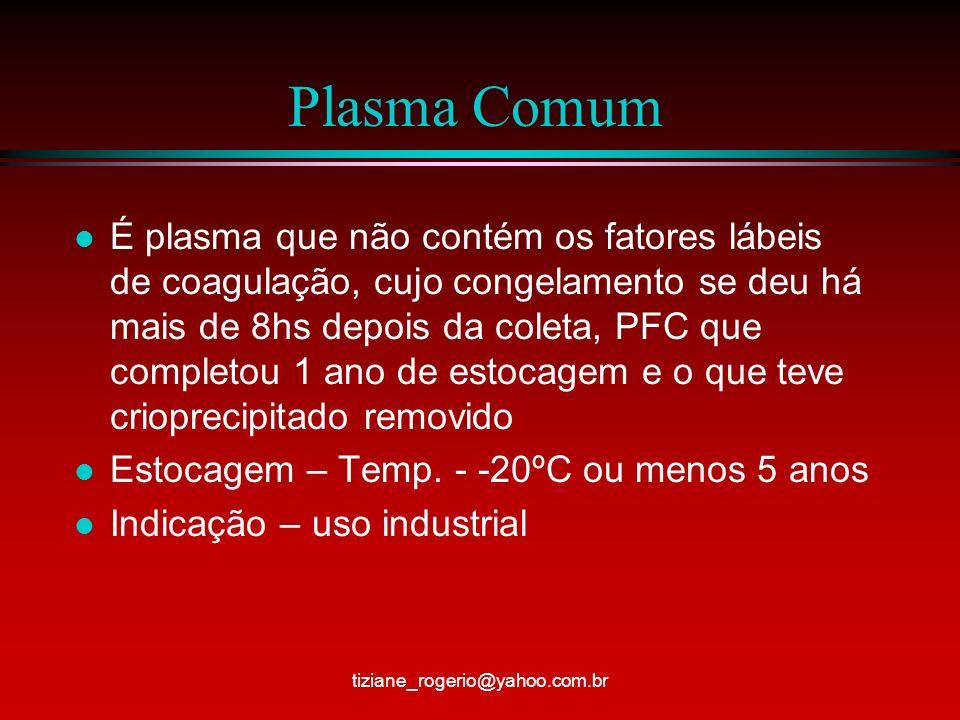 Plasma Comum