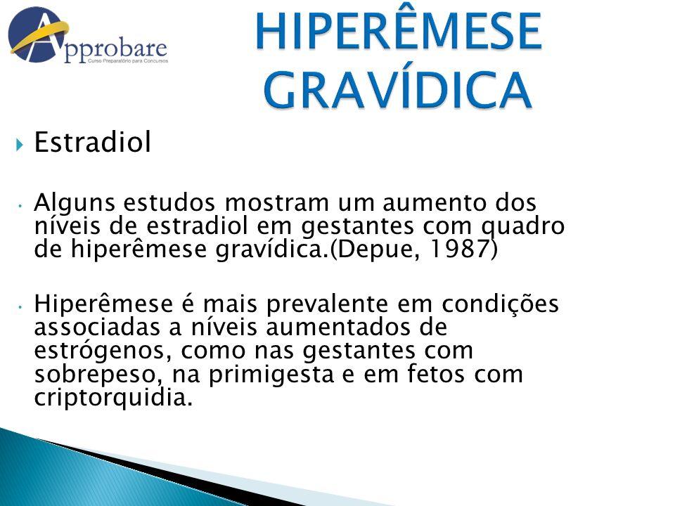 HIPERÊMESE GRAVÍDICA Estradiol