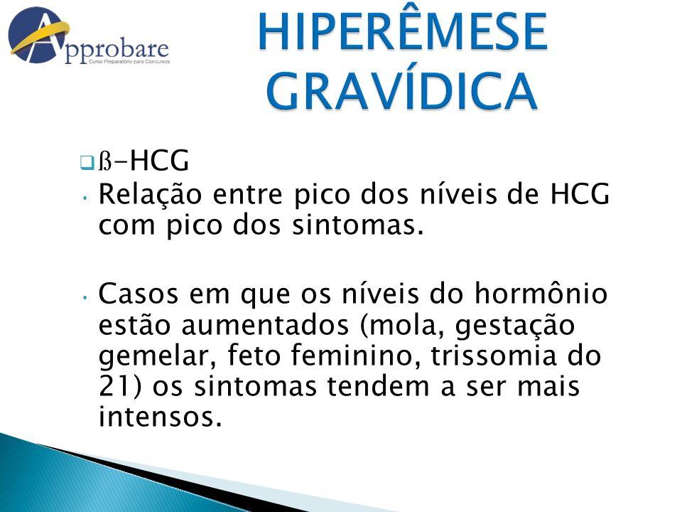 HIPERÊMESE GRAVÍDICA ß-HCG