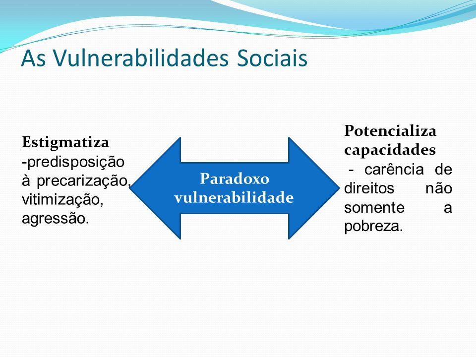 As Vulnerabilidades Sociais