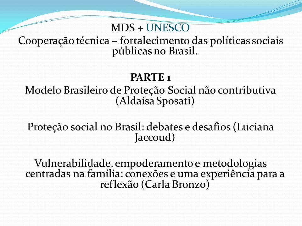 Proteção social no Brasil: debates e desafios (Luciana Jaccoud)