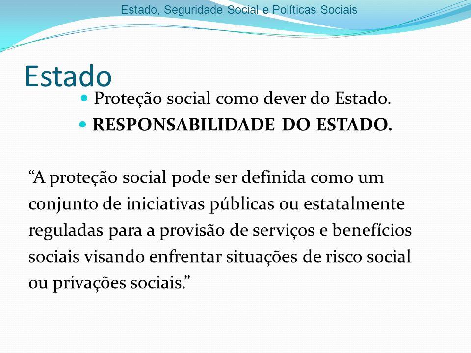 RESPONSABILIDADE DO ESTADO.