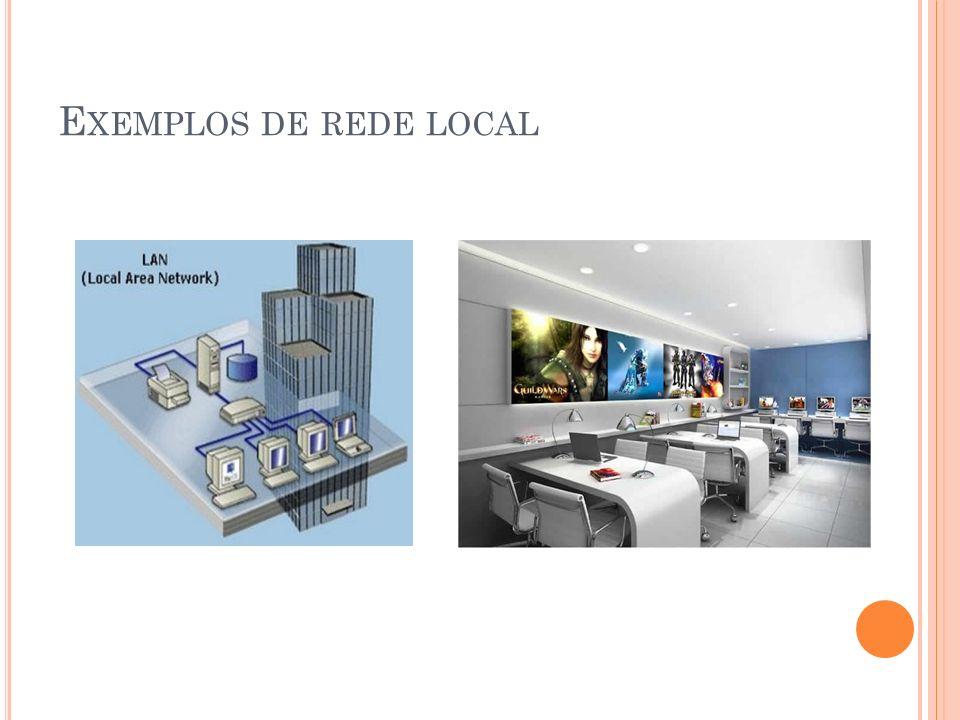 Exemplos de rede local