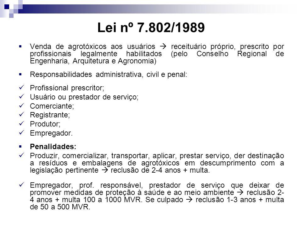 Lei nº 7.802/1989