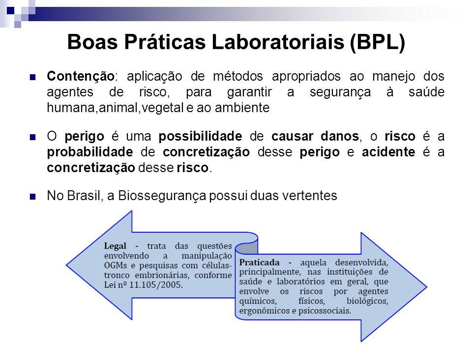 Boas Práticas Laboratoriais (BPL)
