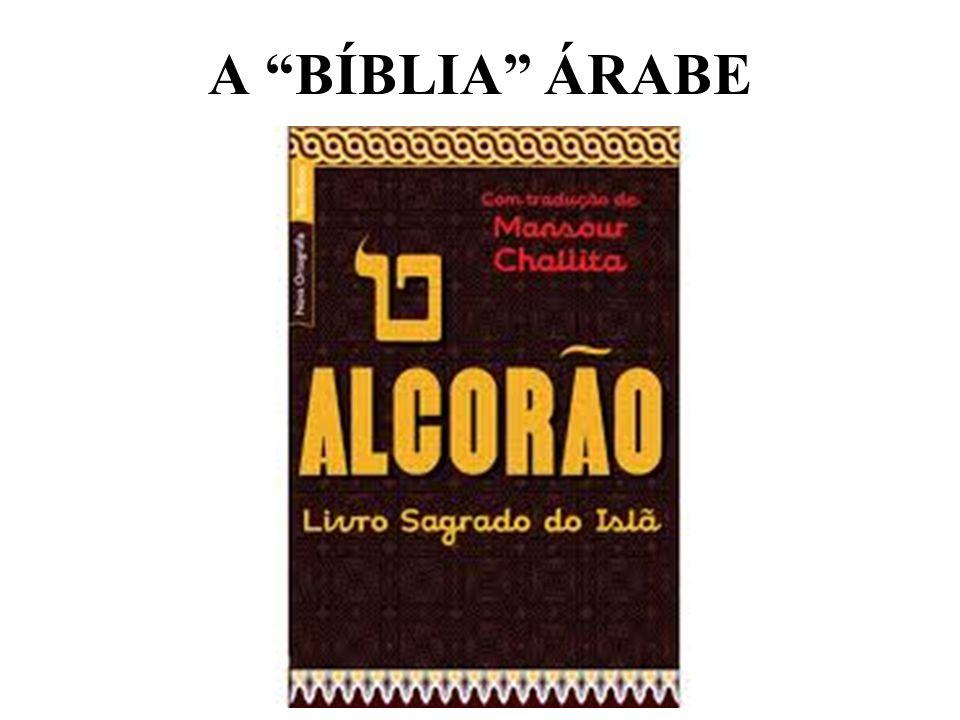 A BÍBLIA ÁRABE