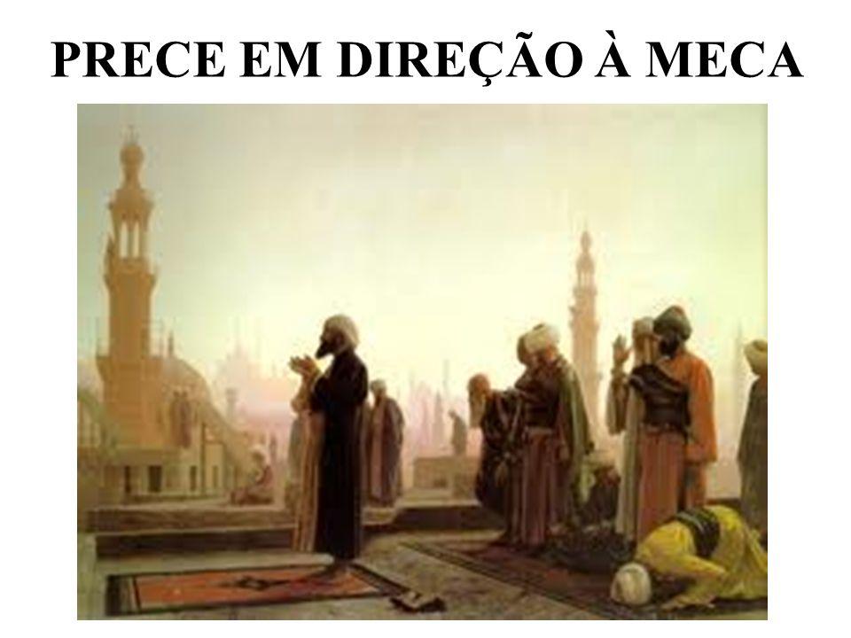 PRECE EM DIREÇÃO À MECA