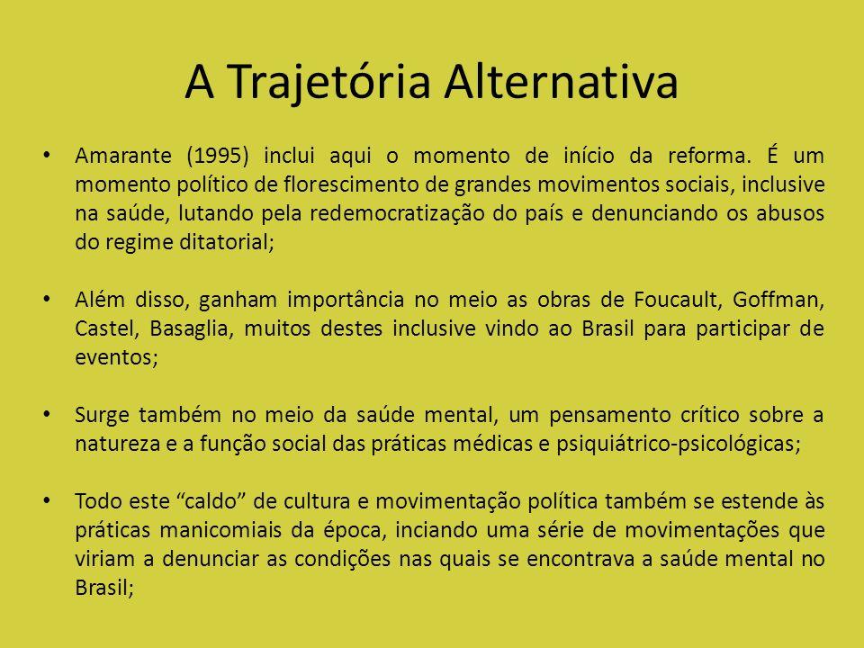 A Trajetória Alternativa