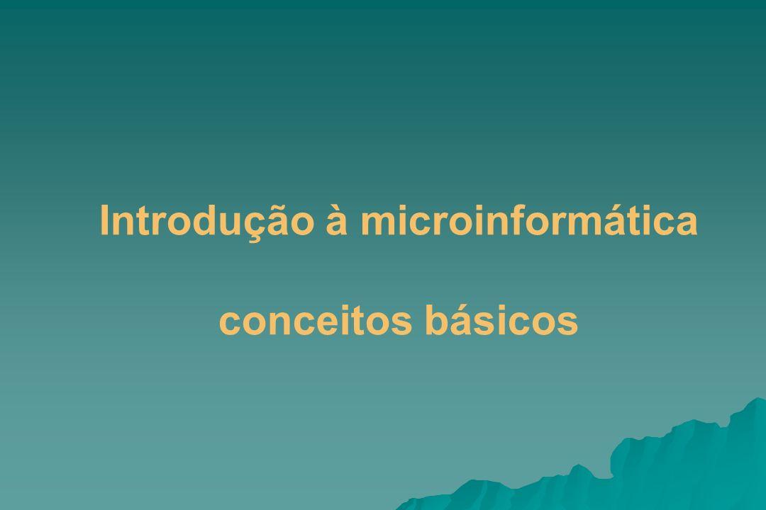 Introdução à microinformática