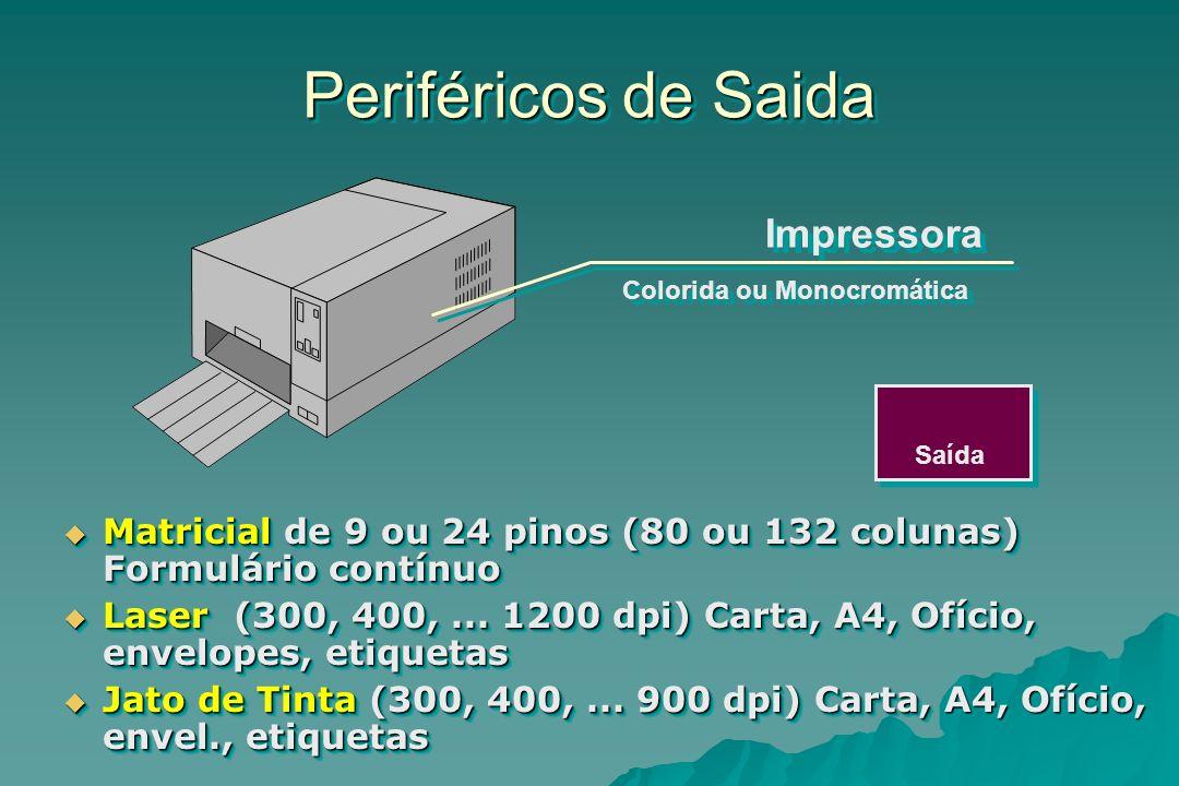 Periféricos de Saida Impressora