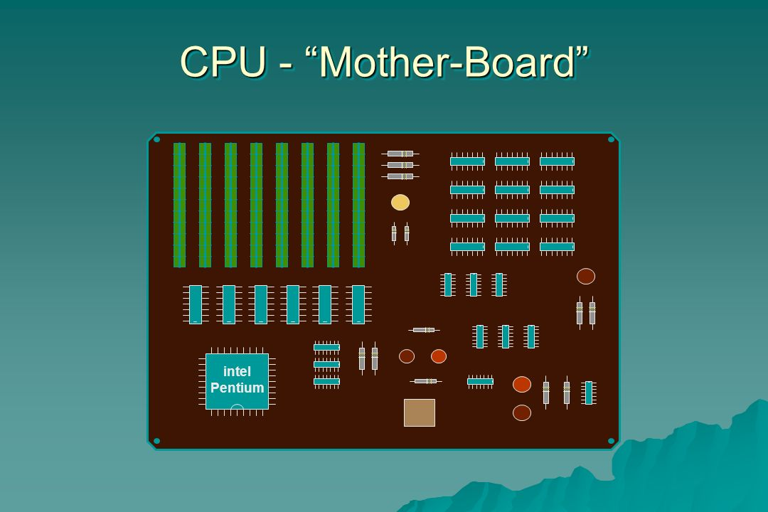 CPU - Mother-Board intel Pentium 19