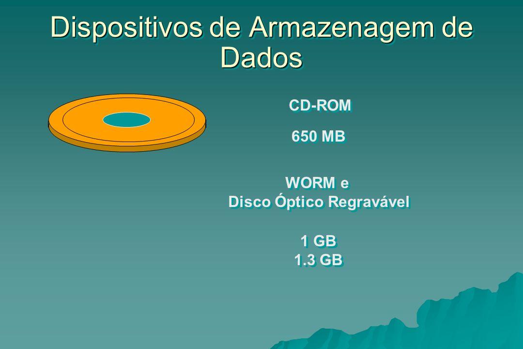 Dispositivos de Armazenagem de Dados
