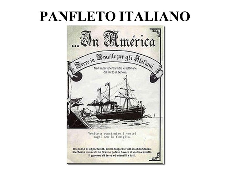 PANFLETO ITALIANO
