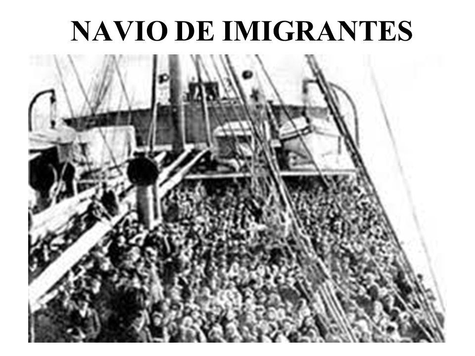 NAVIO DE IMIGRANTES