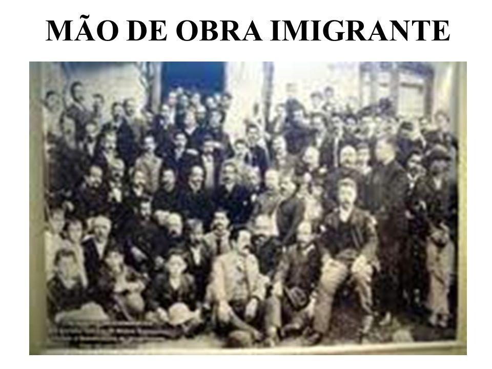 MÃO DE OBRA IMIGRANTE