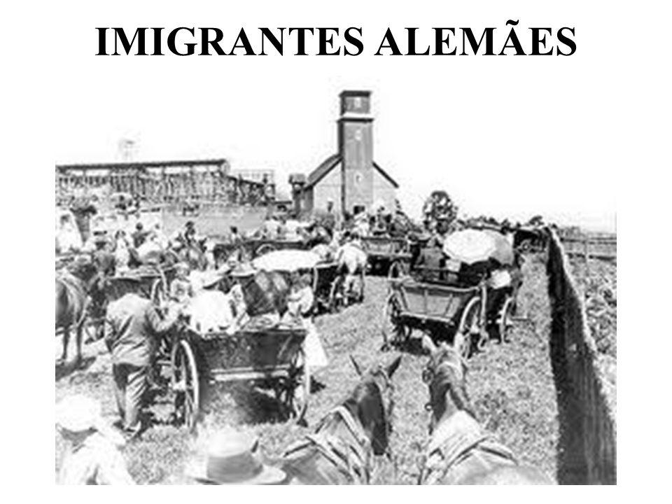 IMIGRANTES ALEMÃES
