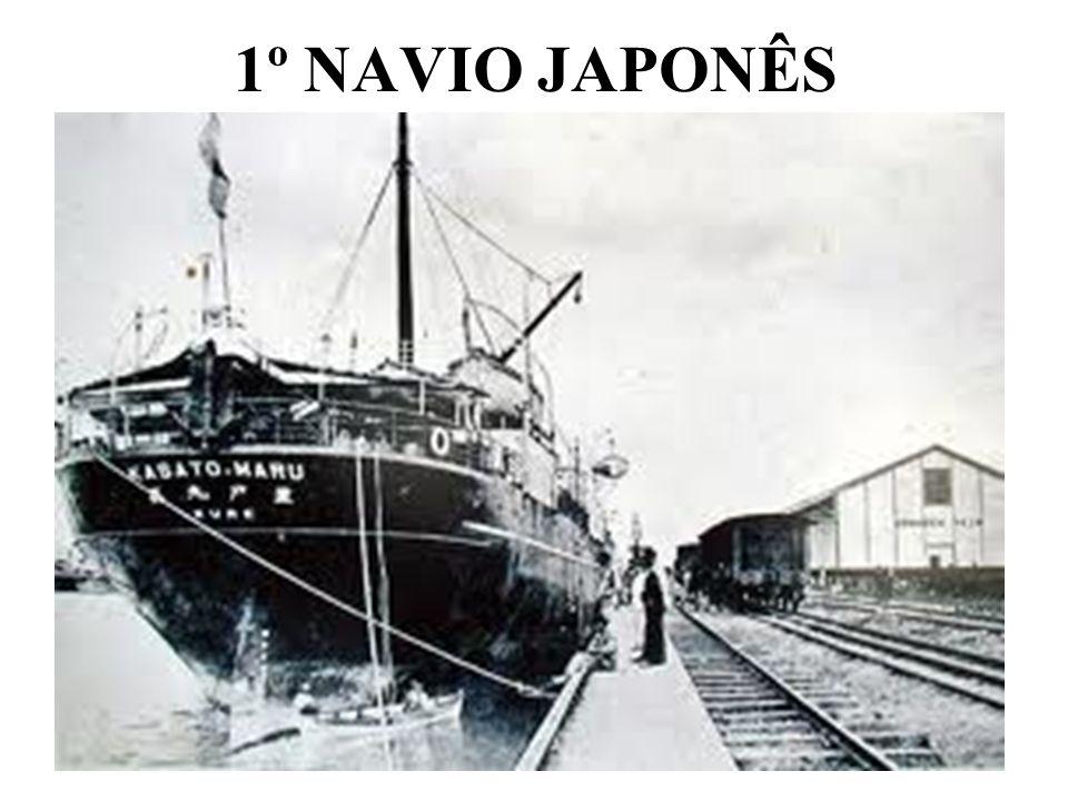 1º NAVIO JAPONÊS