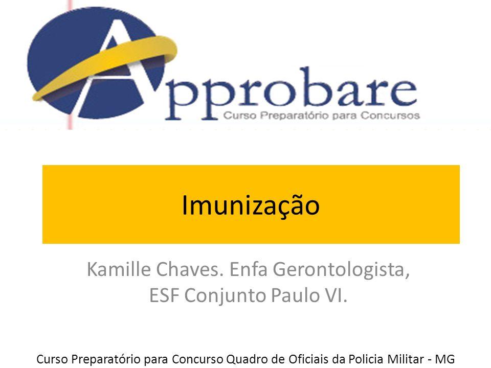 Kamille Chaves. Enfa Gerontologista, ESF Conjunto Paulo VI.