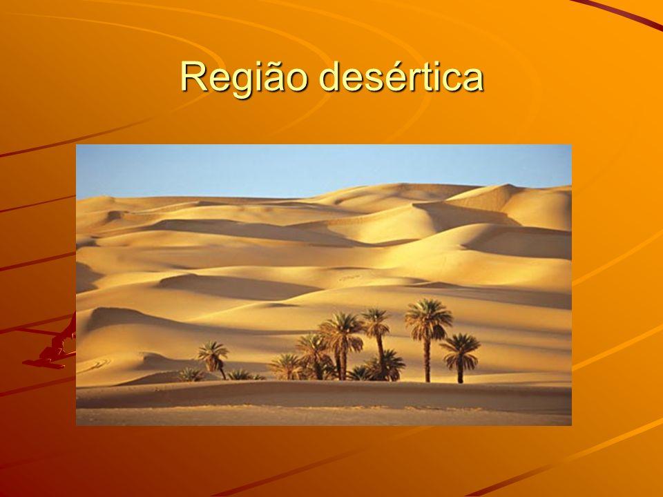 Região desértica