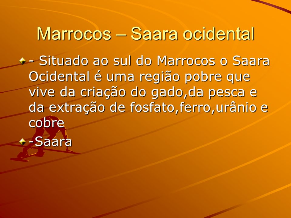 Marrocos – Saara ocidental