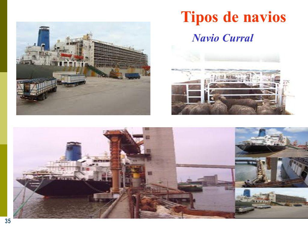 Tipos de navios Navio Curral