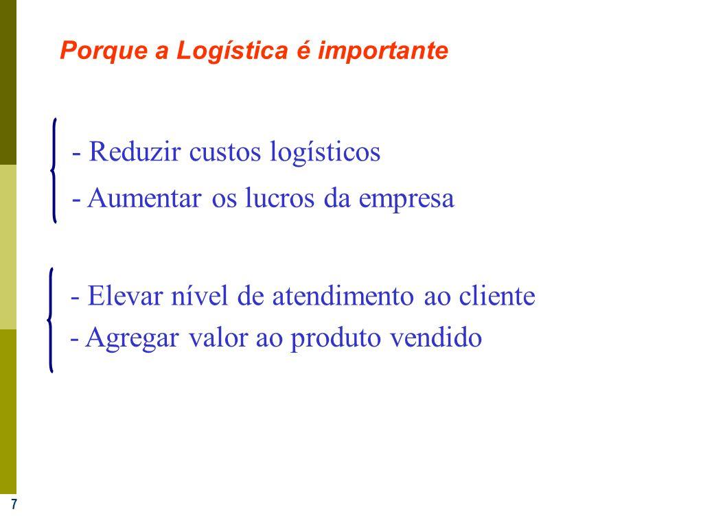 - Reduzir custos logísticos