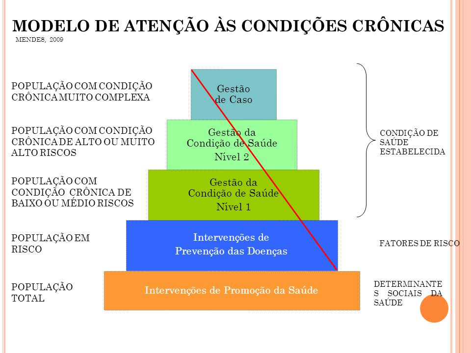 MODELO DE ATENÇÃO ÀS CONDIÇÕES CRÔNICAS