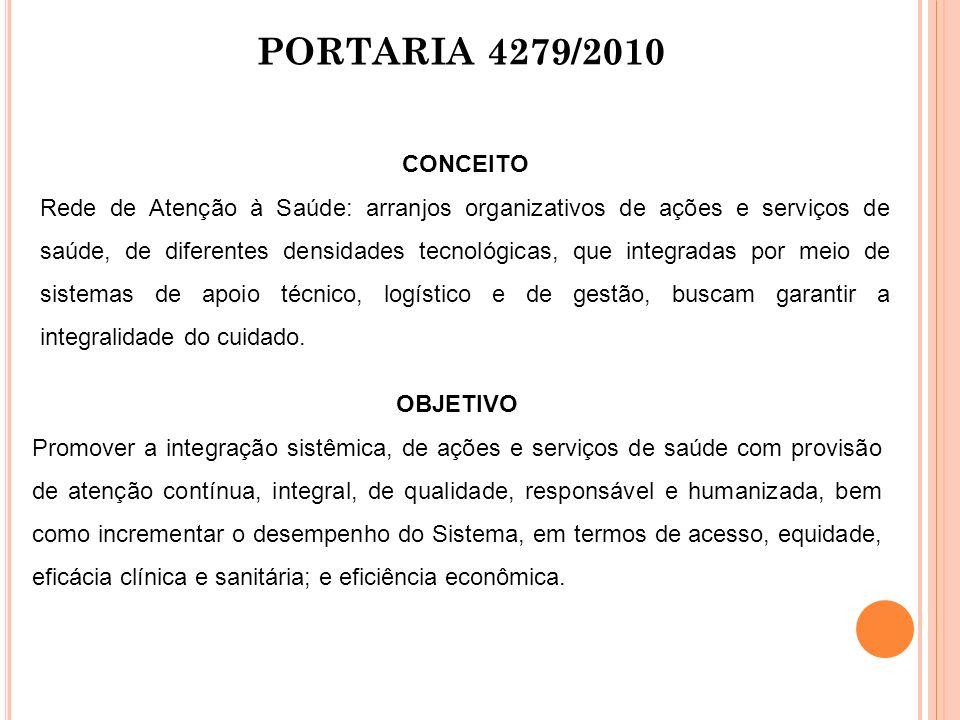 PORTARIA 4279/2010 CONCEITO.