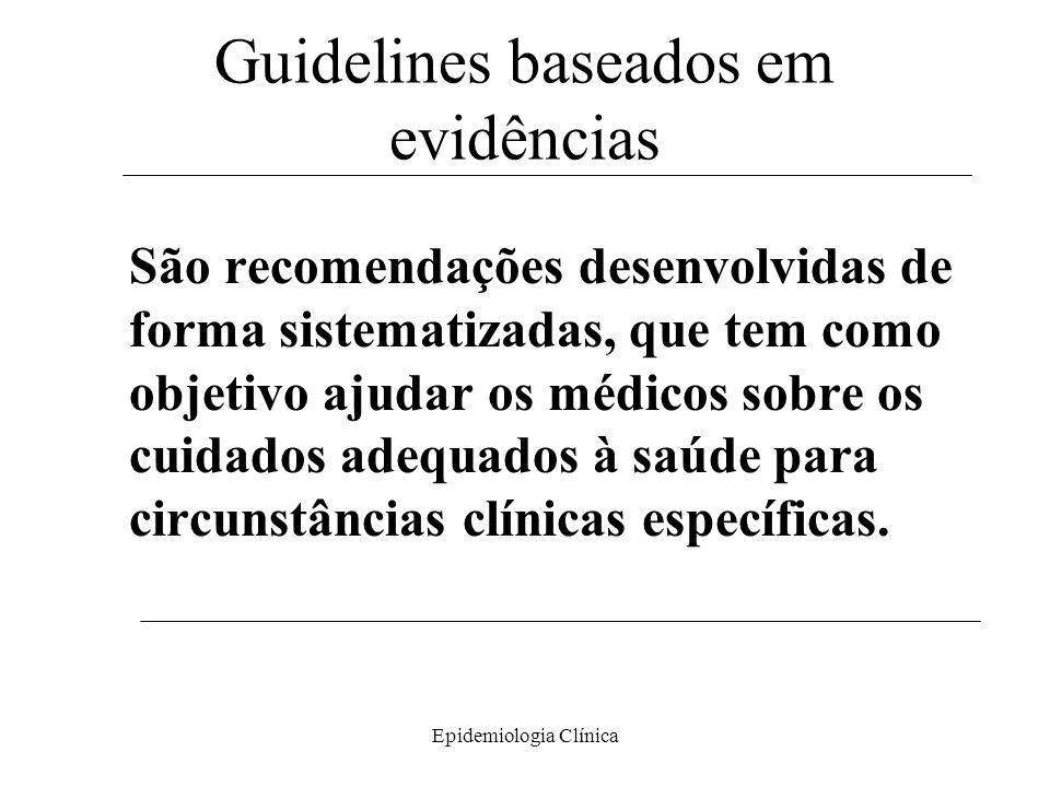 Guidelines baseados em evidências