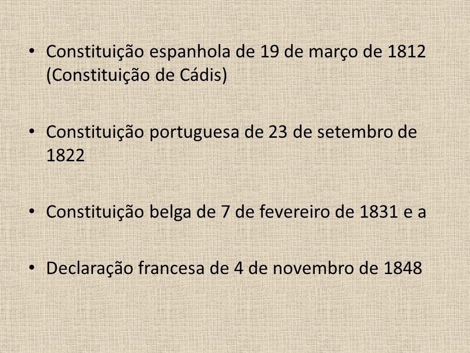 Constituição espanhola de 19 de março de 1812 (Constituição de Cádis)
