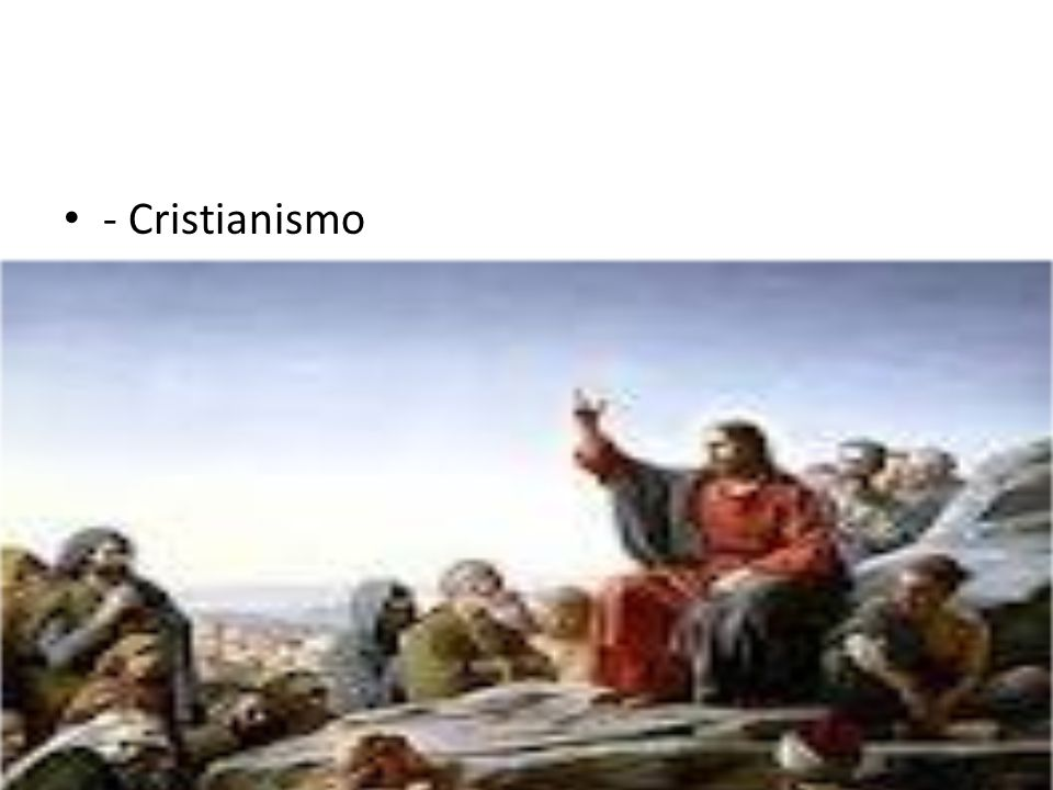 - Cristianismo