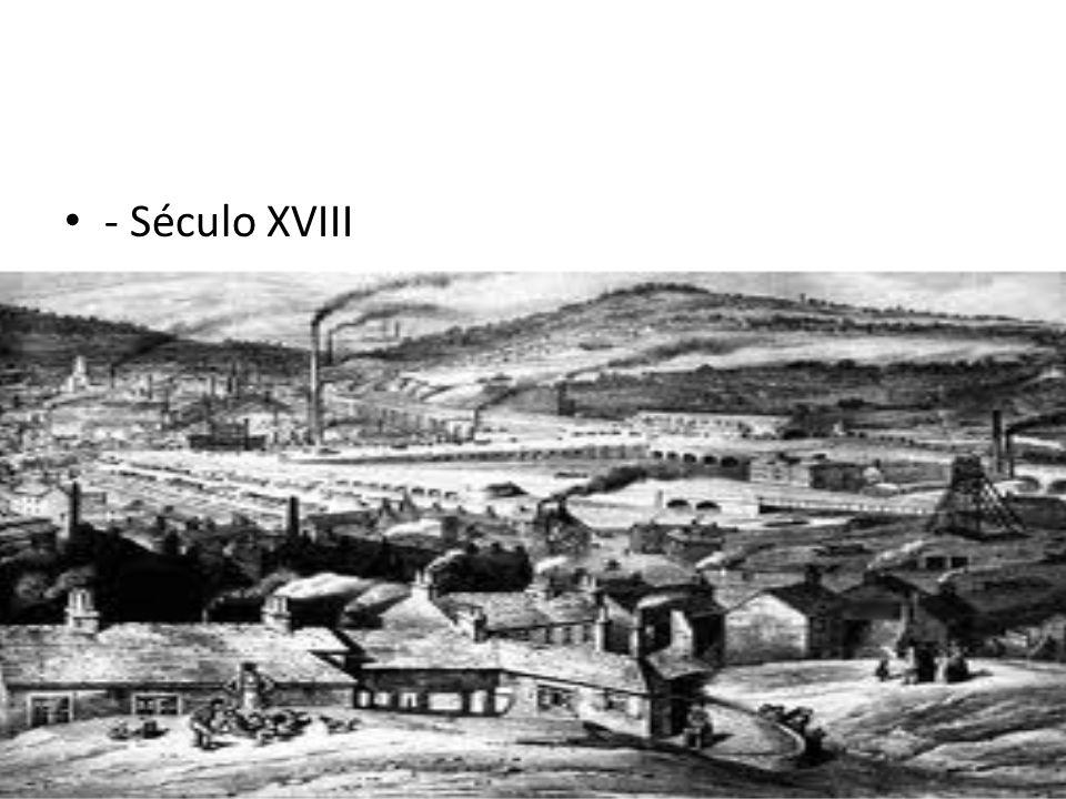 - Século XVIII