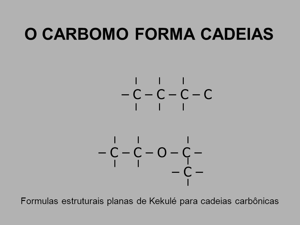 O CARBOMO FORMA CADEIAS