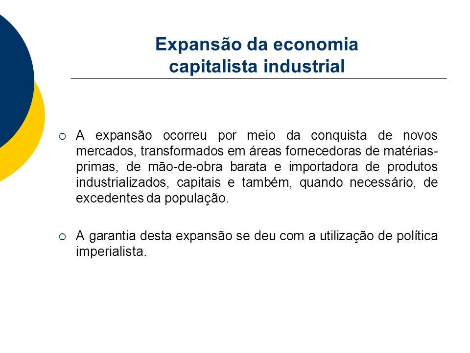 Expansão da economia capitalista industrial