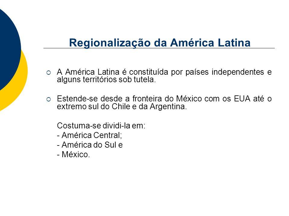 Regionalização da América Latina