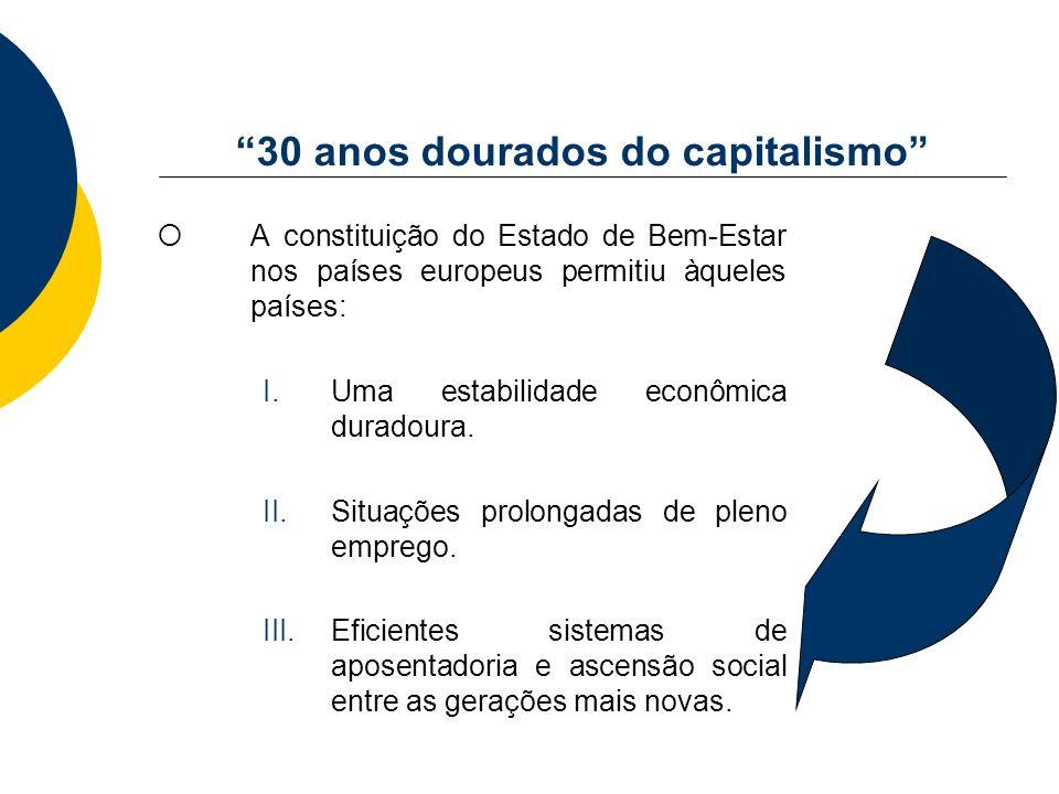 30 anos dourados do capitalismo