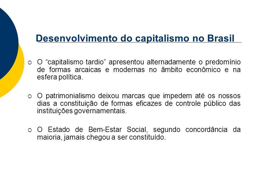 Desenvolvimento do capitalismo no Brasil
