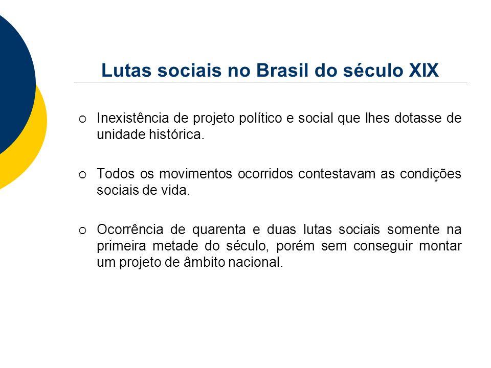 Lutas sociais no Brasil do século XIX