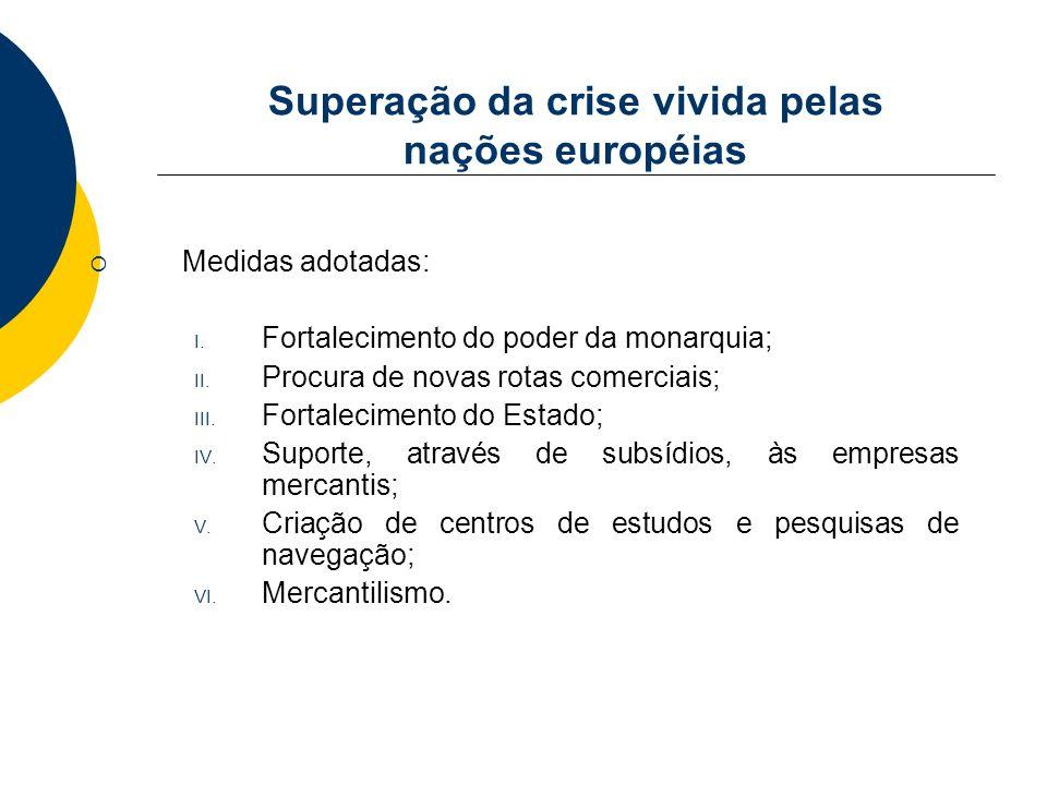 Superação da crise vivida pelas nações européias
