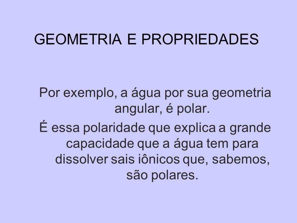 GEOMETRIA E PROPRIEDADES