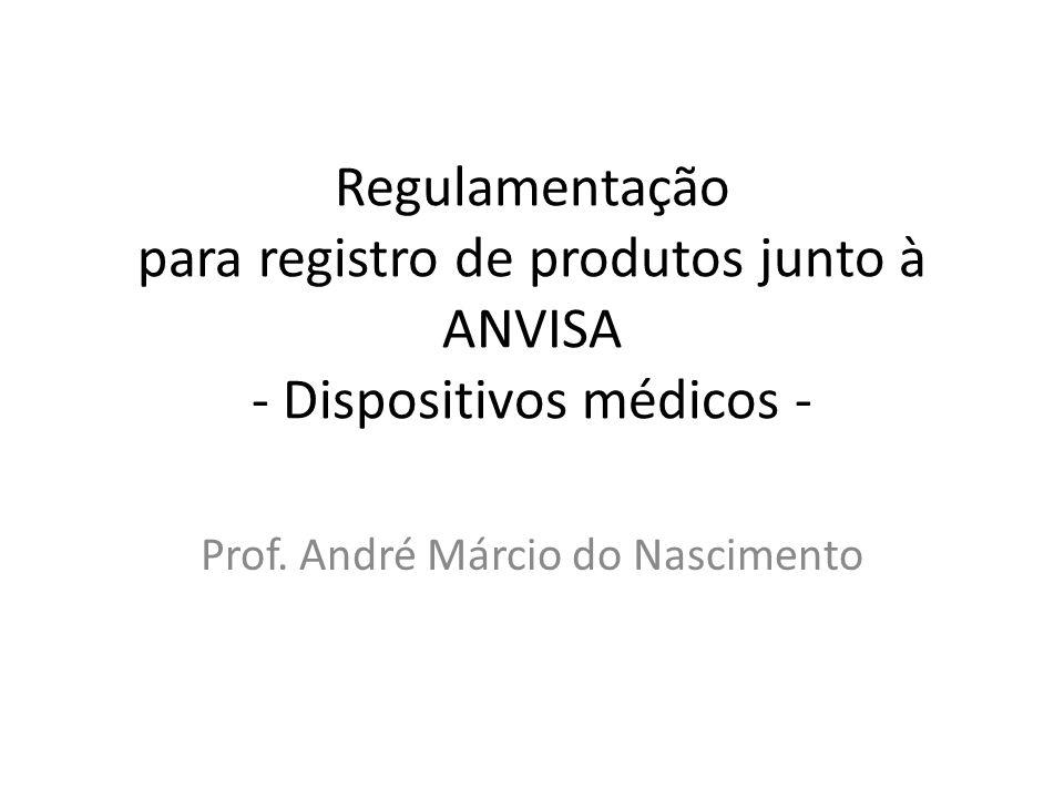 Prof. André Márcio do Nascimento