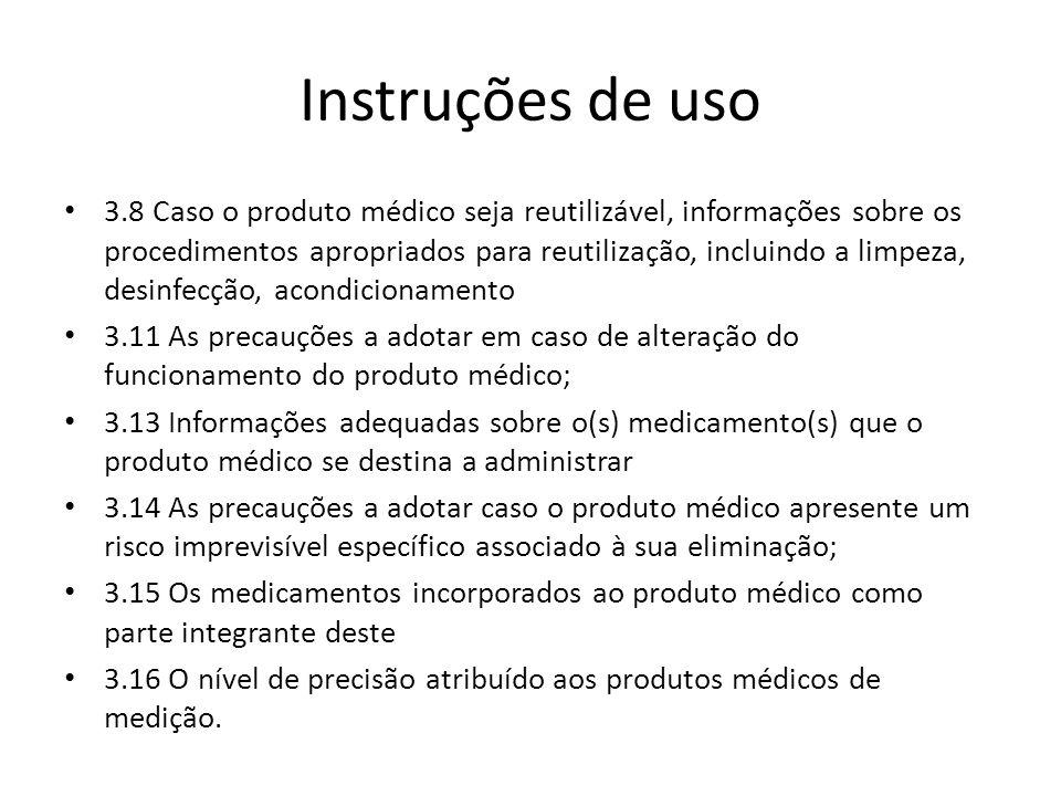 Instruções de uso